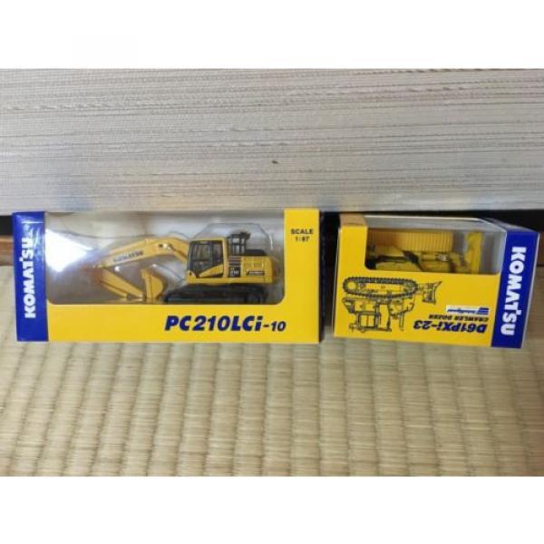 KOMATSU D61PXi-23 Crawler Dozer & c EXCAVATOR Japan Limited 1:87 F/S #3 image