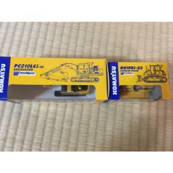 KOMATSU D61PXi-23 Crawler Dozer & c EXCAVATOR Japan Limited 1:87 F/S #4 image