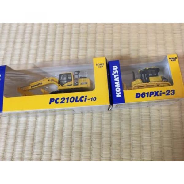 KOMATSU D61PXi-23 Crawler Dozer & c EXCAVATOR Japan Limited 1:87 F/S #5 image