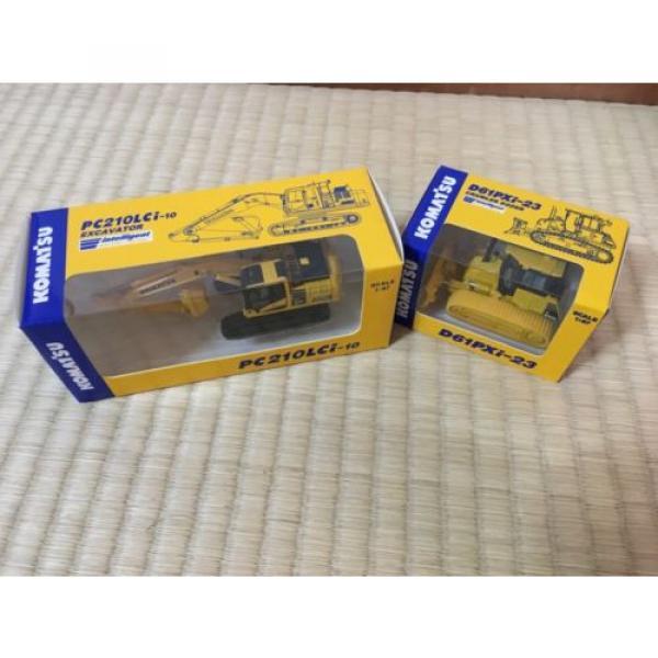 KOMATSU D61PXi-23 Crawler Dozer & c EXCAVATOR Japan Limited 1:87 F/S #6 image