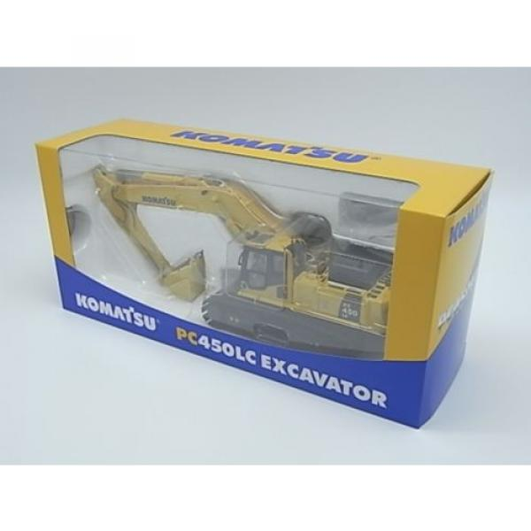 New! Komatsu excavators PC450LC crushed stone specification 1/50 diecast Japan #2 image