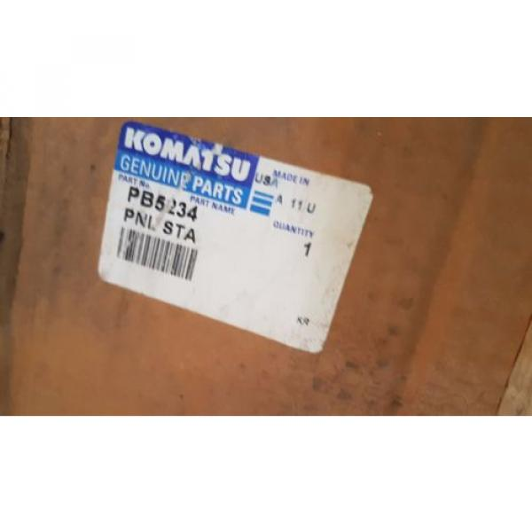 New Komatsu Panel Static PB5234 Made in USA #1 image