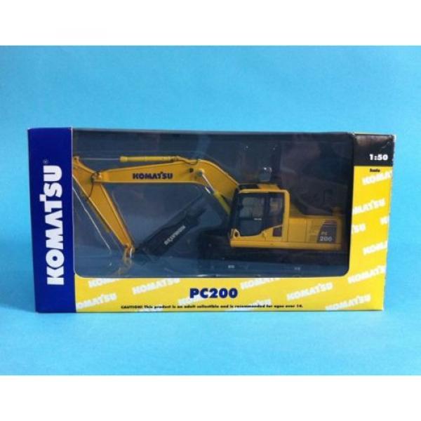 1/50 Komatsu PC200 Drill Diecast Metal model #2 image