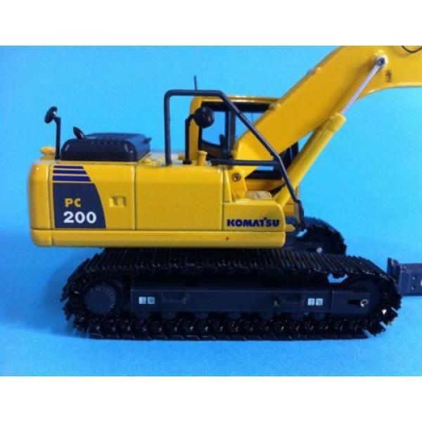 1/50 Komatsu PC200 Drill Diecast Metal model #6 image