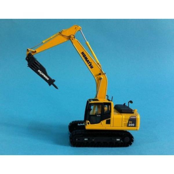 1/50 Komatsu PC200 Drill Diecast Metal model #9 image