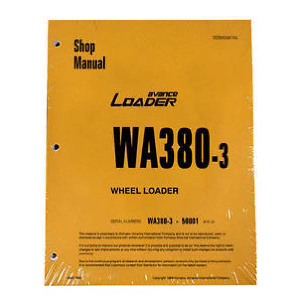 Komatsu WA380-3 Wheel Loader Service Repair Manual #1 #1 image