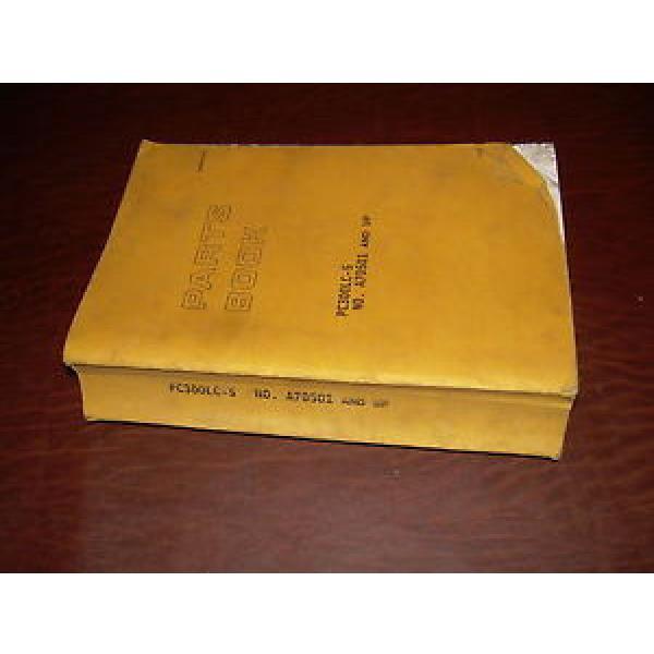 KOMATSU 300 PC300 -5  EXCAVATOR PARTS CATALOG BOOK MANUAL S/N A70501 #1 image