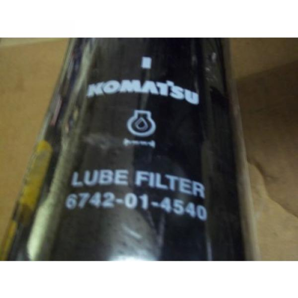 Genuine  Komatsu  Oil  Filter Part Number  6742-01-4540 #1 image