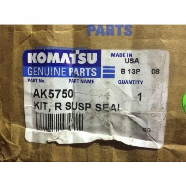 Genuine OEM Komatsu PC200 Rear Suspension Seal Kit AK5750 #7 image