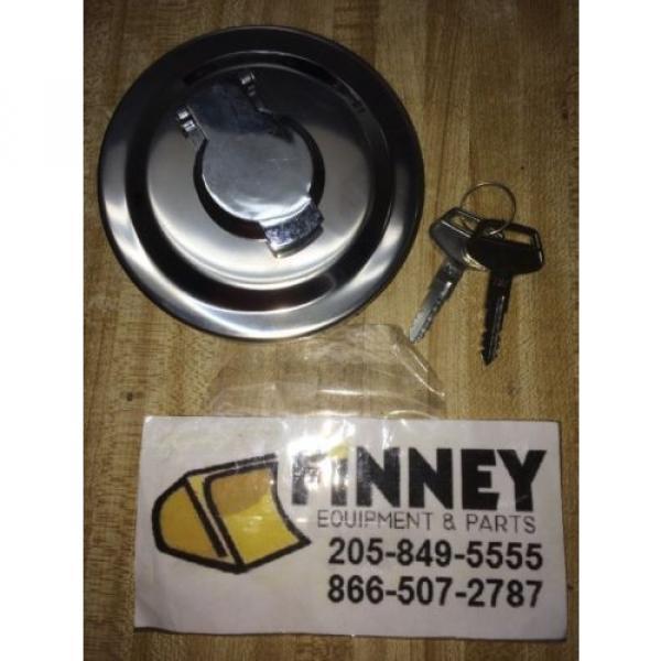 Komatsu DOZER Locking Fuel Cap 423-04-11362 NEW keyS d39PX-21+ OTHERS #1 image