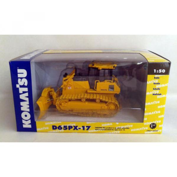 KOMATSU D65PX-17 DOZER W/HITCH 1:50 DIECAST BY FIRST GEAR 50-3246 #6 image