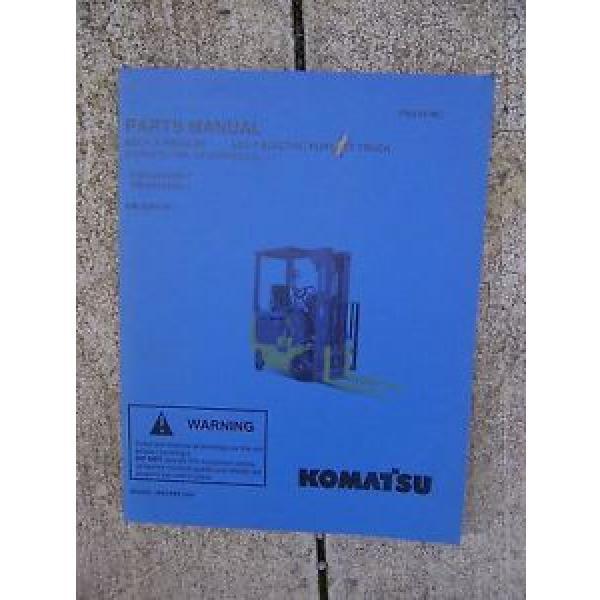 2003 Komatsu ABX7 Electric Forklift Truck Illustrated Parts Manual GE Controls V #1 image