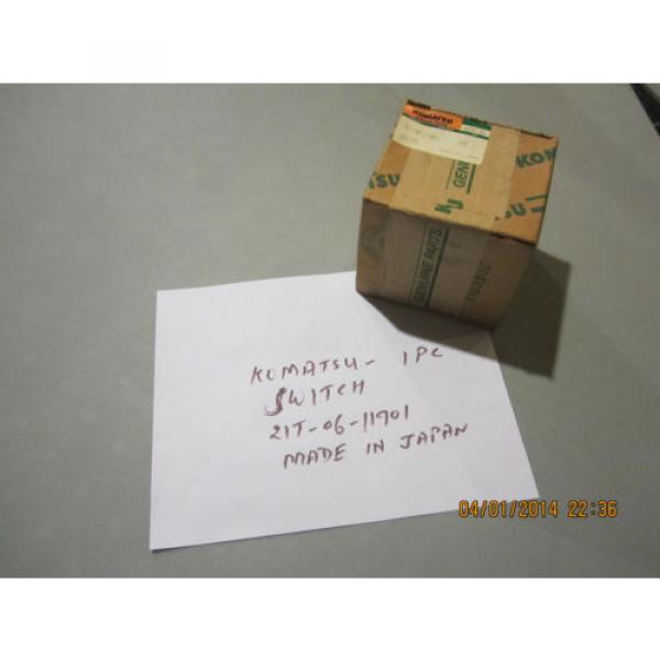 Komatsu 21T-06-11901 Switch Genuine #1 image