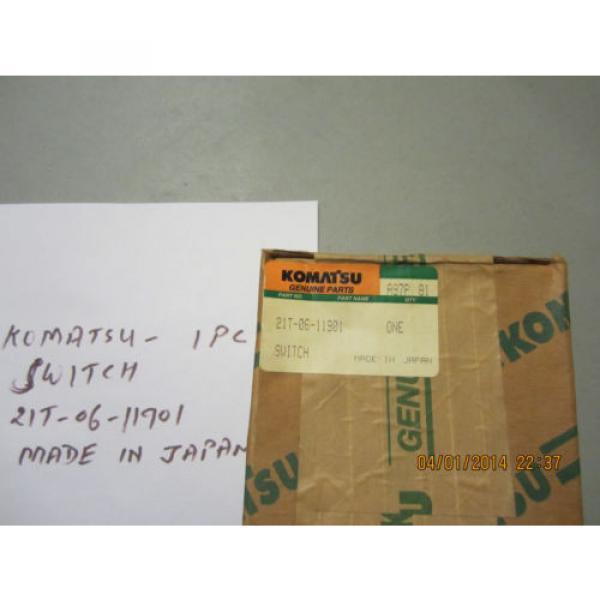 Komatsu 21T-06-11901 Switch Genuine #3 image