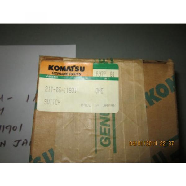 Komatsu 21T-06-11901 Switch Genuine #6 image