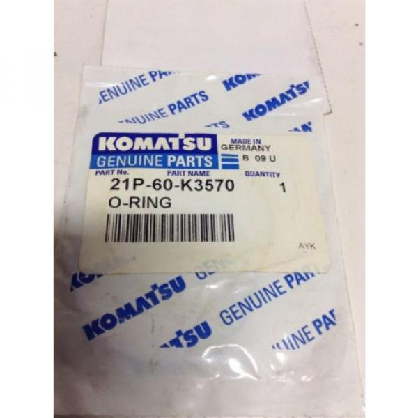*New* Komatsu O-Ring P/N: 21P-60-K3570 *Warranty**Fast Shipping* #3 image