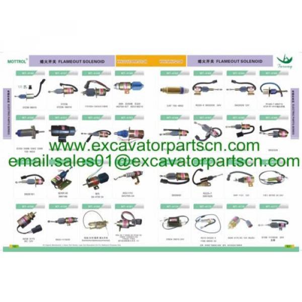 7835-12-1006 7835-12-1005 monitor fits KOMATSU PC200-7 PC220-7 PC240-7 PC270-7 #12 image