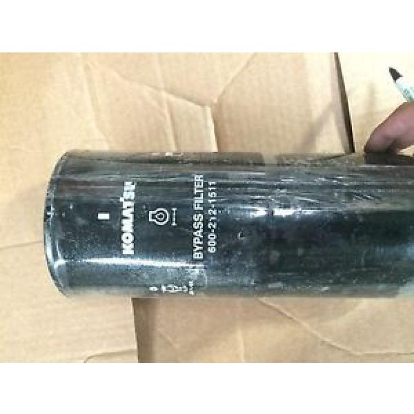 Komatsu Oil Filter part no. 600-212-1511 #1 image