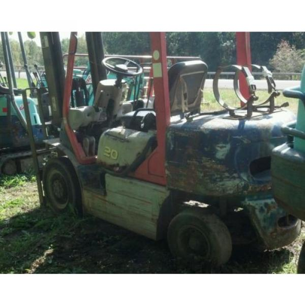 KOMATSU 4000 POUND FORKLIFT FG20C-12W FORK TRUCK LIFT TOW MOTOR PARTS OR REPAIR #6 image
