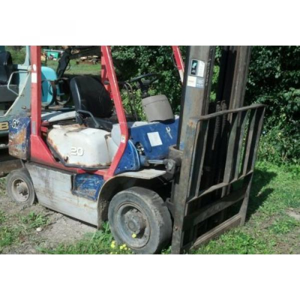 KOMATSU 4000 POUND FORKLIFT FG20C-12W FORK TRUCK LIFT TOW MOTOR PARTS OR REPAIR #10 image