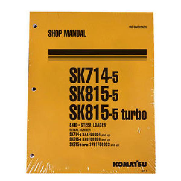 Komatsu SK714-5, SK815-5 & Turbo Service Shop Manual #1 image