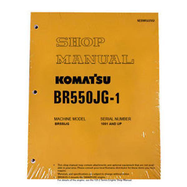Komatsu Service BR550JG-1 Mobile Crusher Repair Manual #1 image