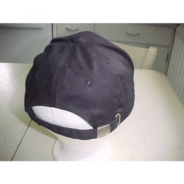 Komatsu Cloth Hat Black White Baseball Stitched Cap Heavy Equipment #3 image