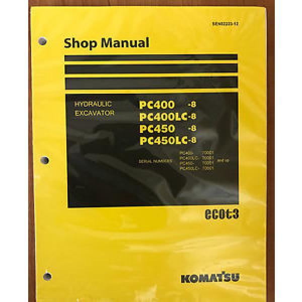 Komatsu Service PC400-8 PC400LC-8 PC450-8 PC450LC-8 Manual Shop Repair #1 image