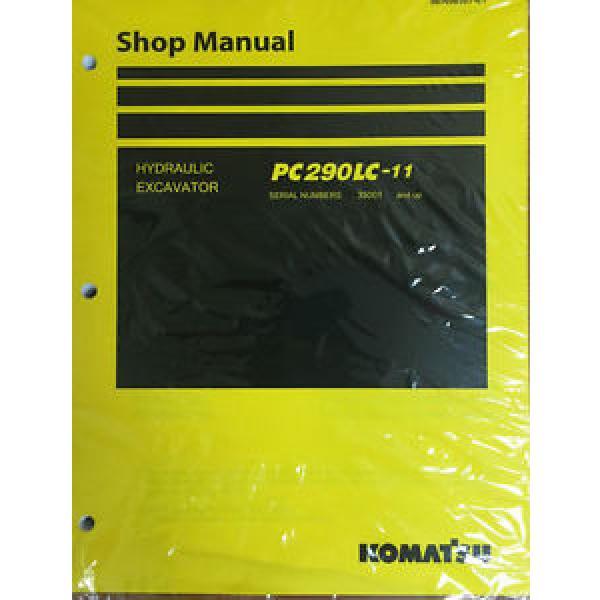 Komatsu PC290LC-11 Hydraulic Excavator Shop Loader Workshop Repair #1 image