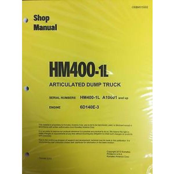 Komatsu HM400-1L Shop Service Manual Articulated Dump Truck #1 image