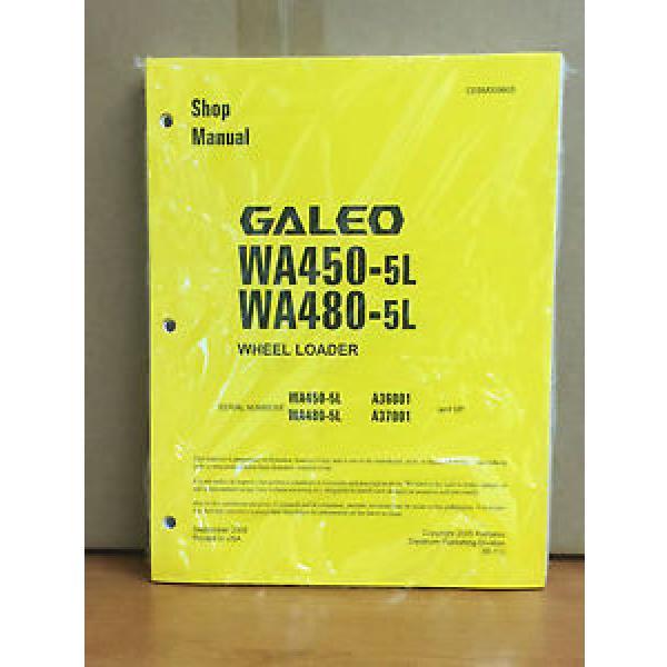 Komatsu Galeo WA450-5L, WA480-5L Wheel Loader Shop Service Repair Manual #1 image