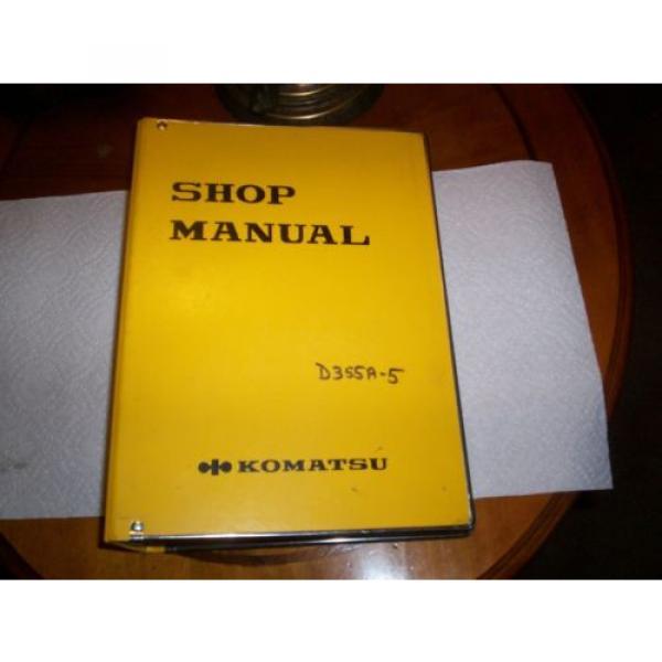 Komatsu shop manual #1 image