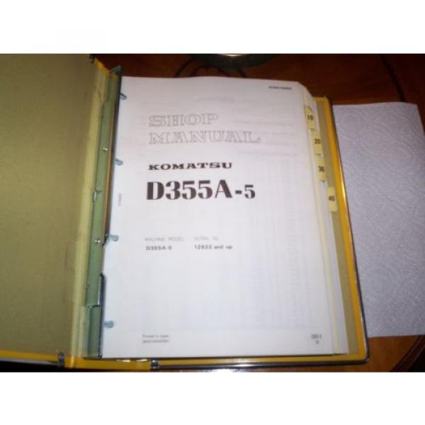 Komatsu shop manual #2 image