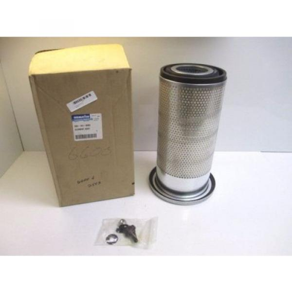 KOMATSU EXCAVATOR AIR FILTER ASSEMBLY 600-181-6050 NEW IN BOX HEAVY EQUIPMENT #1 image