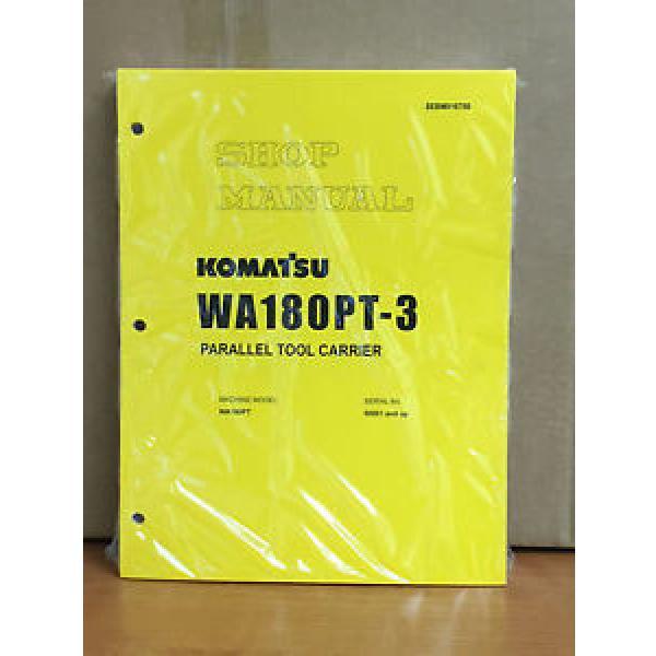 Komatsu WA180PT-3 Parallel Tool Carrier Wheel Loader Shop Service Repair Manual #1 image