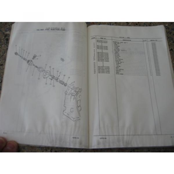 Komatsu PC02-1A Hydraulic Excavator Parts Book (English) #2 image