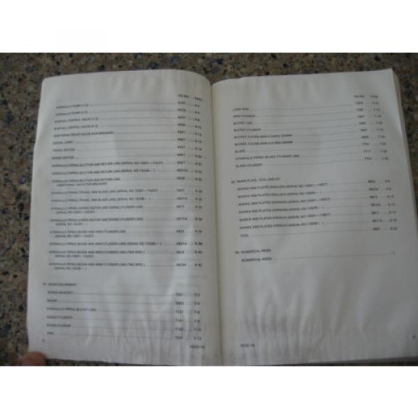 Komatsu PC02-1A Hydraulic Excavator Parts Book (English) #4 image