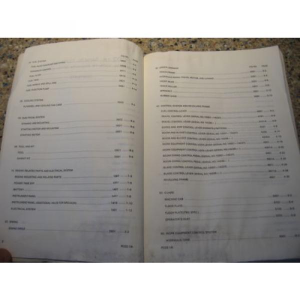 Komatsu PC02-1A Hydraulic Excavator Parts Book (English) #6 image