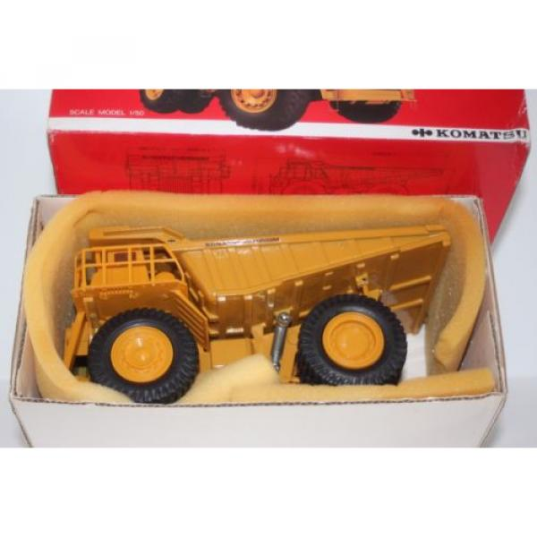 komatsu dump truck t-5 made in japan hd1200mm 1/50 new  yonezawa toy diapet #1 image