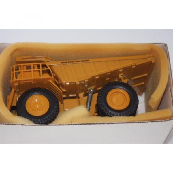 komatsu dump truck t-5 made in japan hd1200mm 1/50 new  yonezawa toy diapet #2 image
