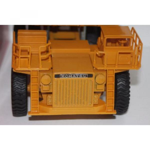 komatsu dump truck t-5 made in japan hd1200mm 1/50 new  yonezawa toy diapet #9 image