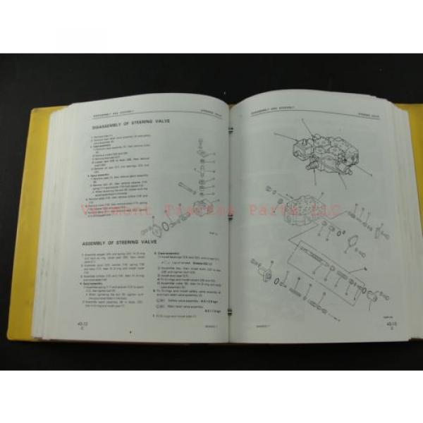 Komatsu WA400-1 wheel Loader service shop repair manual SEBM04240106 #6 image