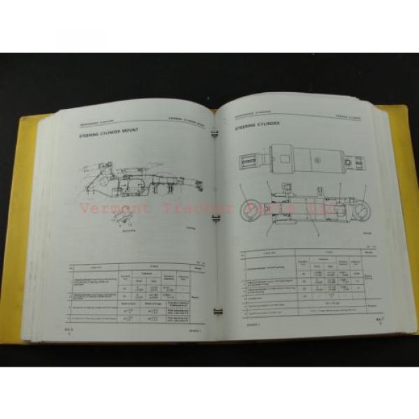 Komatsu WA400-1 wheel Loader service shop repair manual SEBM04240106 #7 image