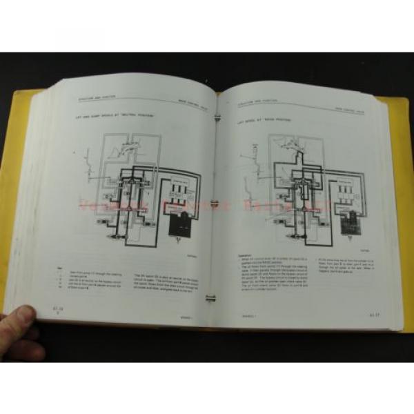 Komatsu WA400-1 wheel Loader service shop repair manual SEBM04240106 #8 image