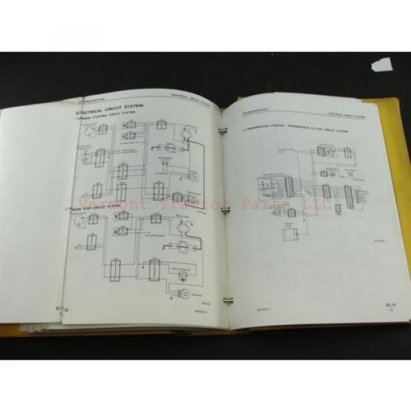 Komatsu WA400-1 wheel Loader service shop repair manual SEBM04240106 #10 image