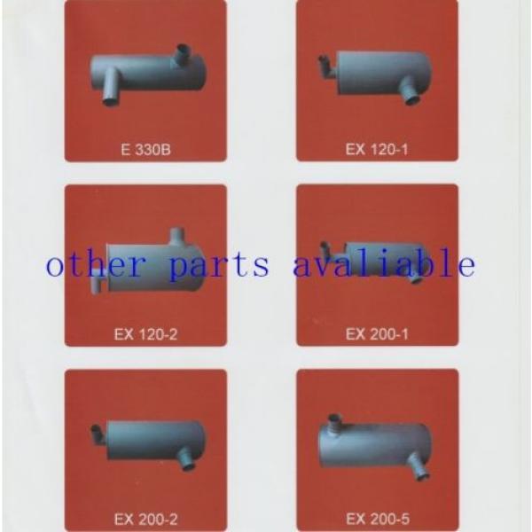 6208-11-5210 MUFFLER FITS FOR KOMATSU PC130-7 SAA4D95-3 #1 image