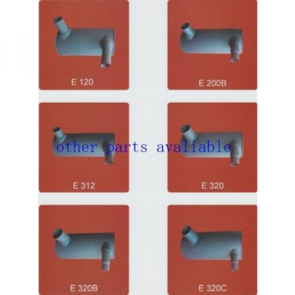 6208-11-5210 MUFFLER FITS FOR KOMATSU PC130-7 SAA4D95-3 #2 image