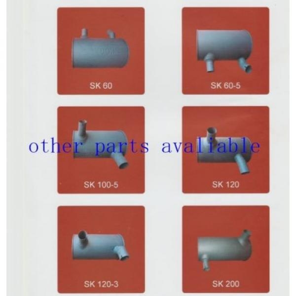6208-11-5210 MUFFLER FITS FOR KOMATSU PC130-7 SAA4D95-3 #3 image