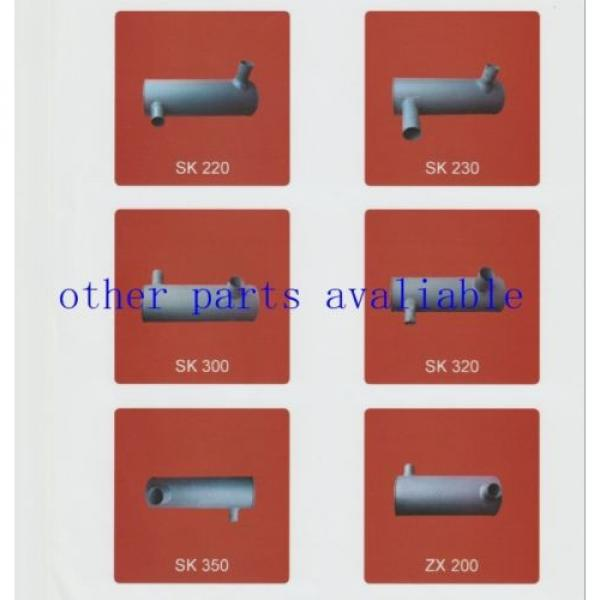 6208-11-5210 MUFFLER FITS FOR KOMATSU PC130-7 SAA4D95-3 #6 image