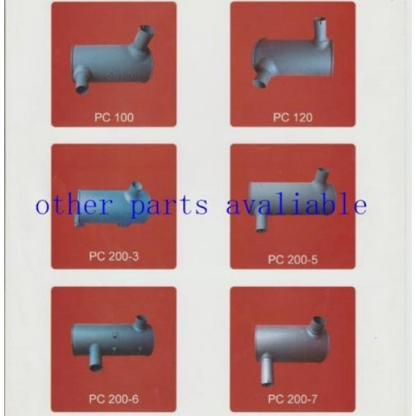 6208-11-5210 MUFFLER FITS FOR KOMATSU PC130-7 SAA4D95-3 #7 image
